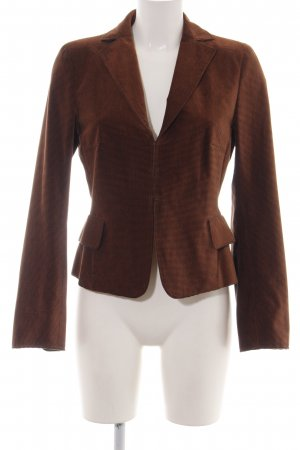 Akris punto Kurz-Blazer braun Business-Look