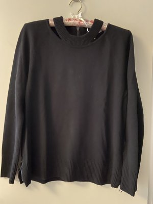 Akris punto Wool Sweater black wool