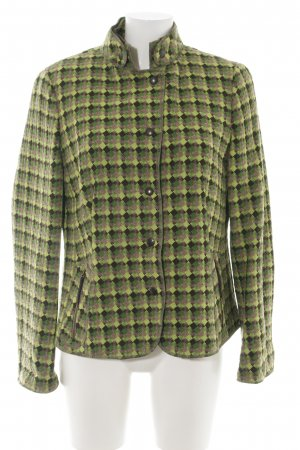 Akris punto Tweedblazer grafisches Muster Casual-Look
