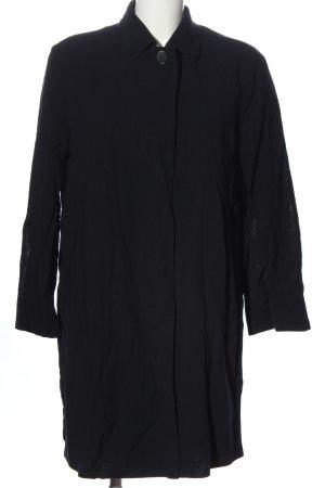 Akris punto Płaszcz przejściowy czarny W stylu casual