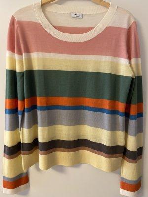 Akris punto Wool Sweater multicolored wool