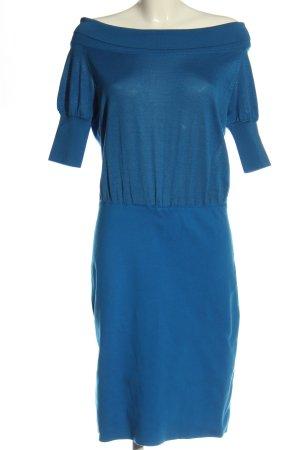 Akris Abito di maglia blu elegante