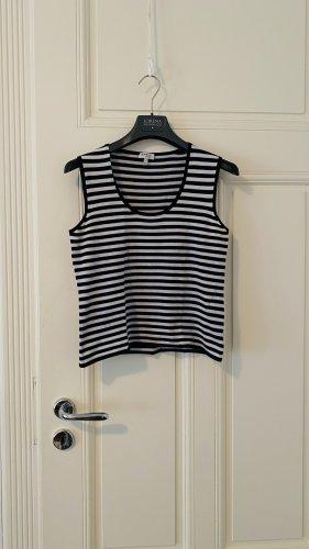 Akris punto Knitted Vest black-white