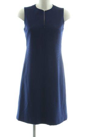 Akris Wollen jurk blauw zakelijke stijl