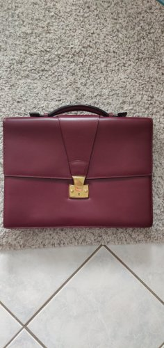 Cartier Aktentas bordeaux