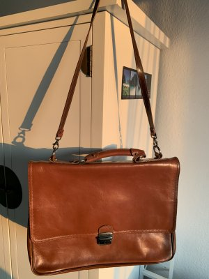 College Bag cognac-coloured