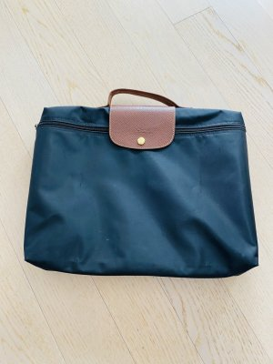 Longchamp Porte-documents noir nylon