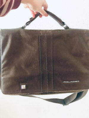 Piquadro Briefcase black brown