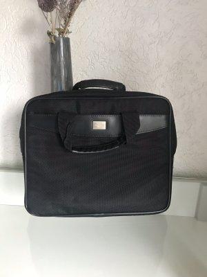 DICOTA Laptop bag black-silver-colored
