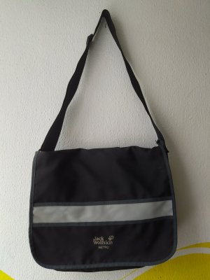 Jack Wolfskin Laptop bag black-grey