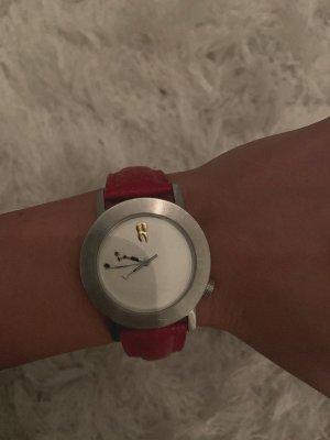 Akteo Analoog horloge karmijn-bordeaux