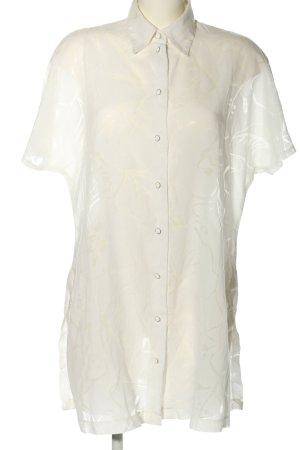 Aktuell Camicetta lunga bianco sporco elegante