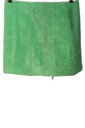 al suelo! Mini rok groen casual uitstraling