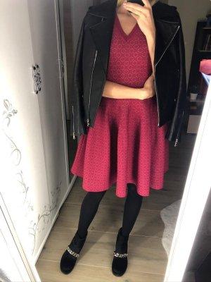 Alaïa Shirt Dress bordeaux
