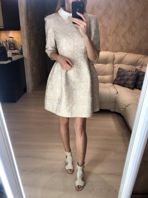 Alaïa Cocktail Dress cream-oatmeal
