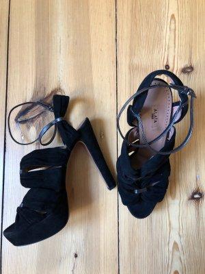 Alaïa Paris high heels schwarz riemchen