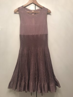 Alaïa A Line Dress mauve
