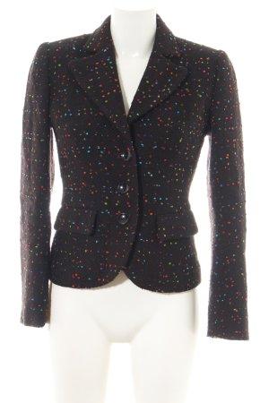 Tweed Blazer allover print business style