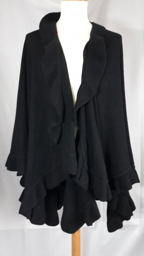 Alain Manoukian Cape black
