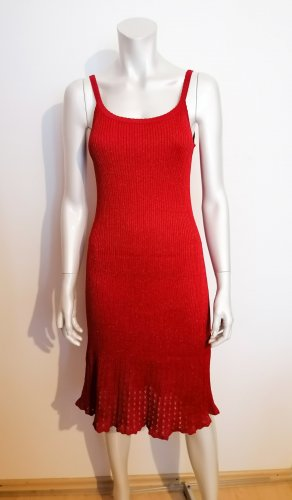 Alain Manoukian Vestido tejido rojo-rojo oscuro Viscosa