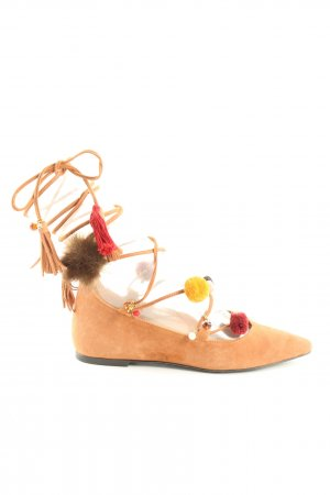 Alameda Turquesa Strappy Ballerinas multicolored casual look