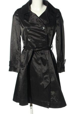 ALANIZ Trenchcoat schwarz Casual-Look
