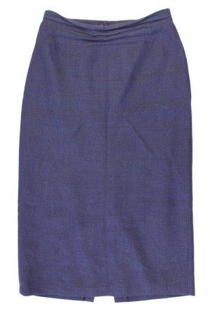 Jupe en laine bleu-bleu fluo-bleu foncé-bleu azur laine