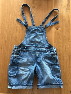 Alba Fan Club kurz Jeans Latz Shorts blau Gr. S 36 38