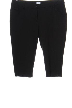 Alba Moda Pantalon 3/4 noir style décontracté