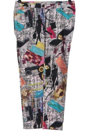 Alba Moda 7/8 Length Trousers allover print casual look