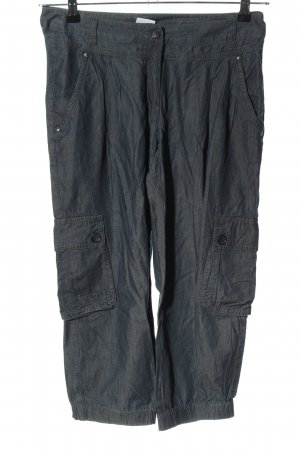Alba Moda 7/8 Length Trousers blue casual look
