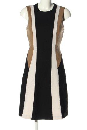 Alba Moda Sukienka o kroju litery A Wzór w paski W stylu casual