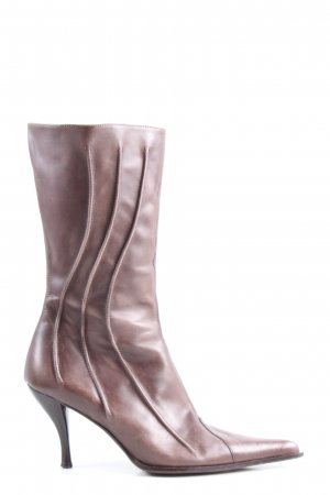 Alba Moda Absatz Stiefel braun Casual-Look