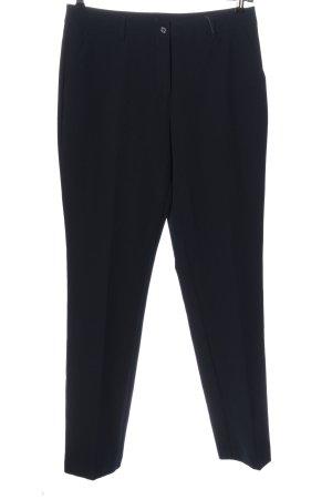 Alba Moda Spodnie garniturowe niebieski W stylu biznesowym