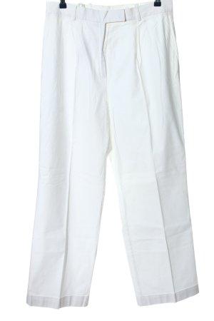 Alba Moda Luźne spodnie biały W stylu casual