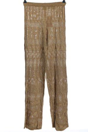 Alba Moda Pantalon «Baggy» blanc cassé style extravagant