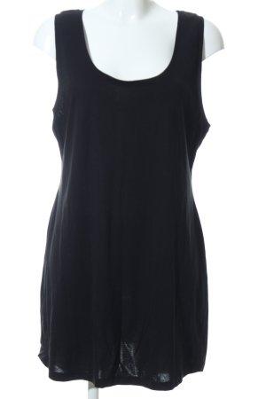 Alba Moda Basic topje zwart casual uitstraling