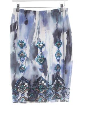 Alba Moda Bleistiftrock abstraktes Muster Elegant