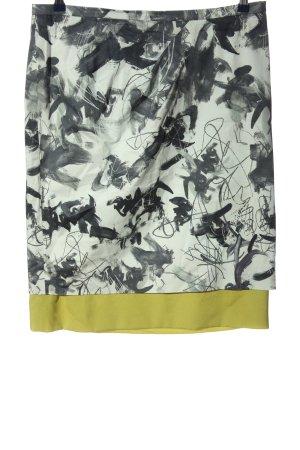 Alba Moda Bleistiftrock grafisches Muster Casual-Look