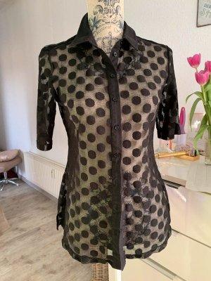 Alba Moda Short Sleeved Blouse black