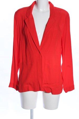 Alba Moda Blousejack rood casual uitstraling