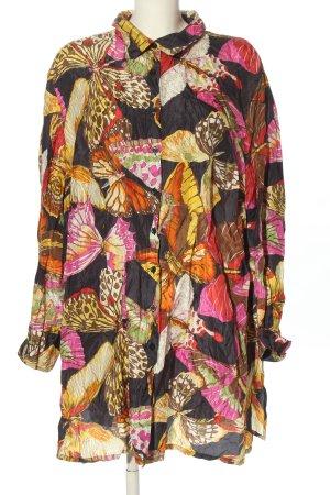Alba Moda Vestido camisero estampado con diseño abstracto look casual
