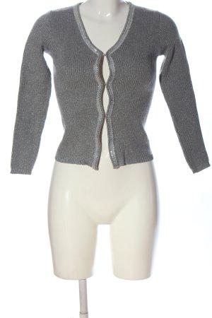 Alba Moda Kardigan jasnoszary Melanżowy W stylu casual