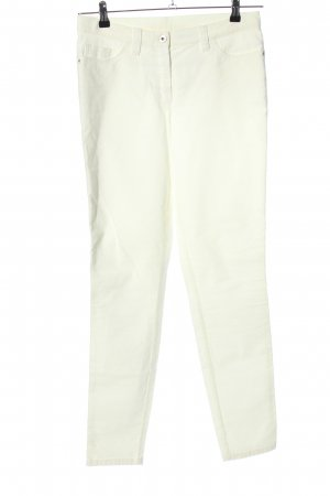 Alba Moda Corduroy Trousers white casual look