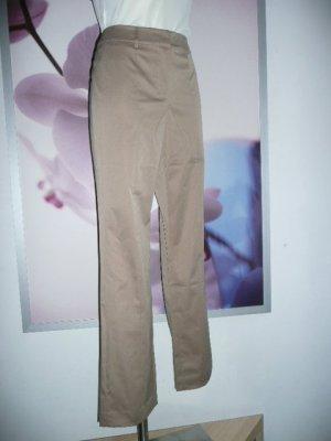 Alba Moda elegante Damen Hose Pants Beige Hazelnut GoldbraunGr 38