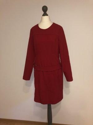 Alba Moda Sheath Dress dark red polyester