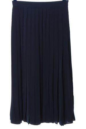 Alba Moda Plisowana spódnica niebieski Elegancki