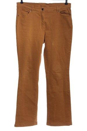 Alba Moda Five-Pocket Trousers brown casual look