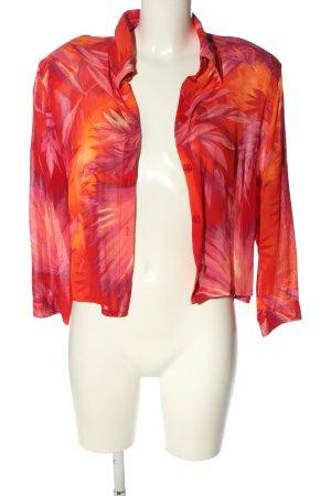 Alba Moda Hemd-Bluse abstraktes Muster Casual-Look