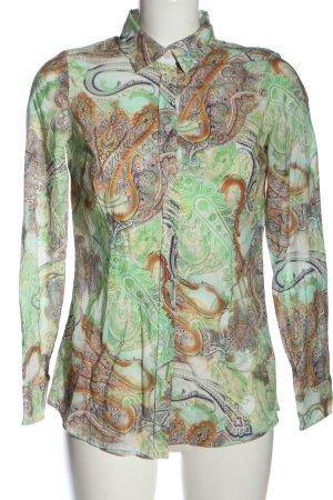 Alba Moda Koszulowa bluzka Abstrakcyjny wzór W stylu casual